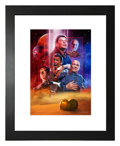 Buy Red Dwarf Limited Edition Prints on Etsy