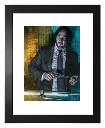 Buy Keanu Reeves, John Wick Limited Edition Prints on Etsy