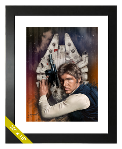 Buy Han Solo Limited Edition Print