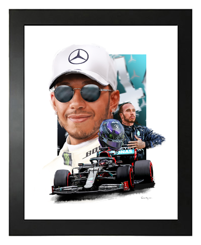 Buy Lewis Hamilton, Hand Drawn, Limited Edition Prints on Etsy