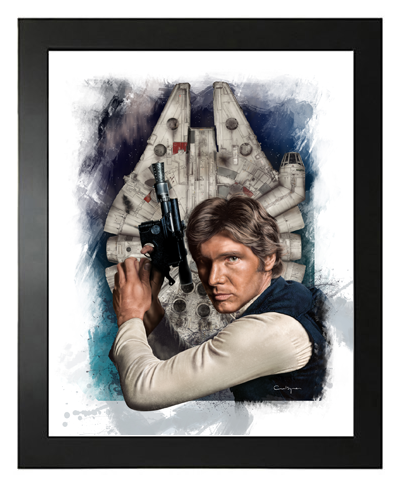 Buy Han Solo - Harrison Ford, Star Wars, Hand Drawn, Limited Edition Prints on Etsy