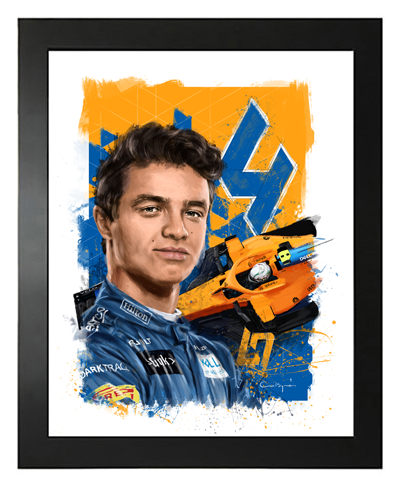 Buy Lando Norris, McLaren F1 Driver, Hand Drawn, Limited Edition Prints on Etsy
