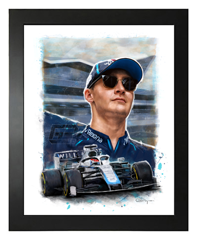 Buy George Russell, Williams Racing F1 Driver, Hand Drawn, Limited Edition Prints on Etsy