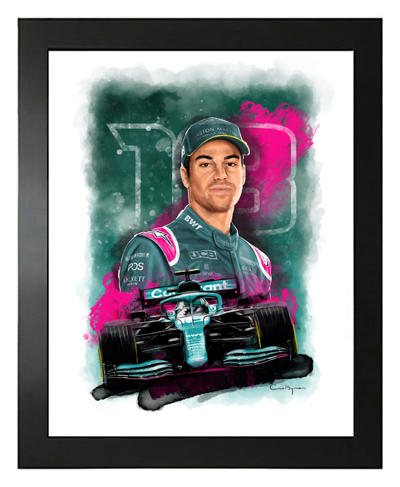 Buy Lance Stroll, Aston Martin F1 Driver, Hand Drawn, Limited Edition Prints on Etsy